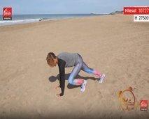رياضة اليوم: حركات رياضية لشد عضلات البطن والفخدين
