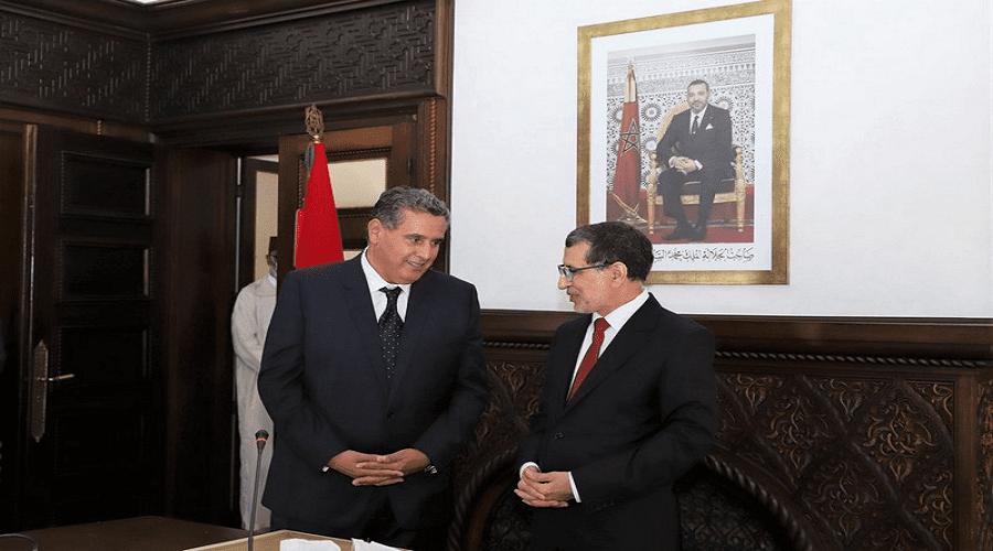أخنوش يتسلم مفاتيح رئاسة الحكومة من العثماني