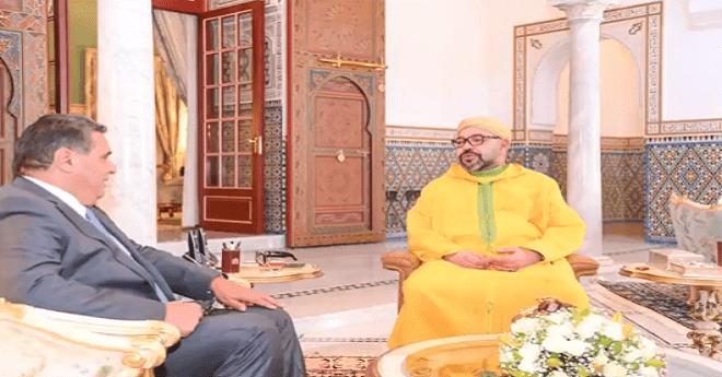 الملك محمد السادس يستقبل وزير الفلاحة عزيز أخنوش