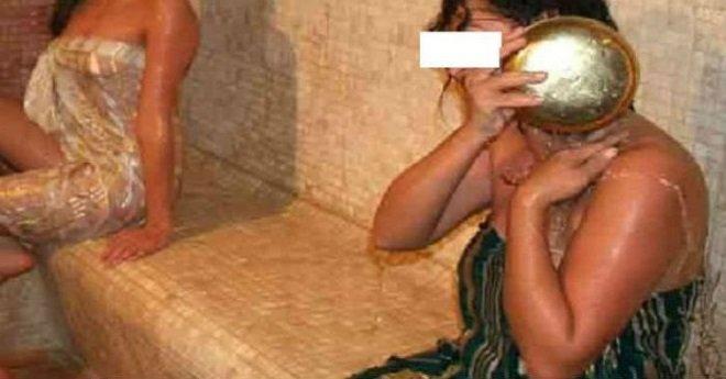 تصوير نساء عاريات في حمام شعبي ببركان