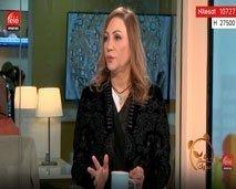 فوزية الناصيري مصممة قفطان مغربي و ابنتها ريم بياز مصممة فساتين تشتغلان بنفس الورشة