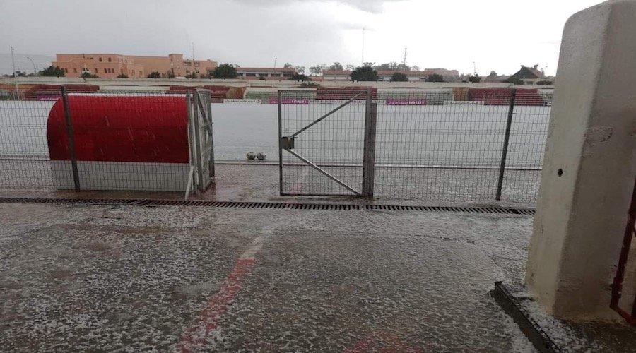 الأحوال الجوية توقف مباراة الماط و أطلس خنيفرة