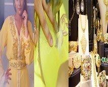 تصاميم فاطمة الزهراء الفيلالي والطرز الرباطي بالآلة ومجوهرات تيفلت في برنامج أزياء