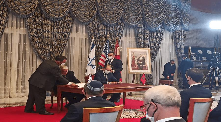 توقيع اتفاقيات بين المغرب وإسرائيل حول الماء والاستثمار والتكنولوجيا والطيران