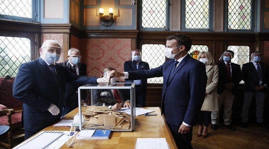 ضربة موجعة لحزب ماكرون في الانتخابات المحلية