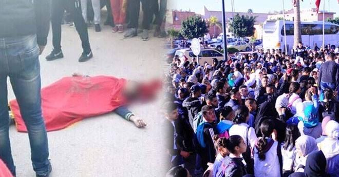مقتل تلميذ في حادث سير خلال مشاركته في مسيرة ضد الساعة الصيفية
