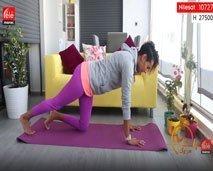 تمارين لعضلات البطن والفخذين والأكتاف - كلثوم اضمير