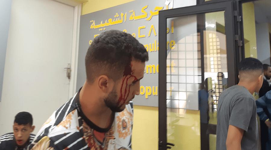 الدماء تسيل داخل المقر المركزي لحزب الحركة الشعبية