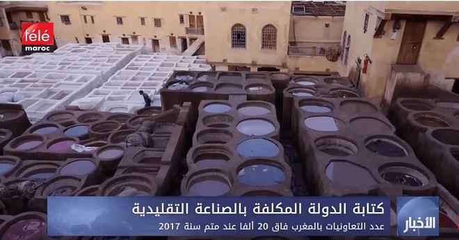 كتابة الدولة المكلفة بالصناعة التقليدية .. عدد التعاونيات بالمغرب فاق 20 ألفا عند متم سنة 2017