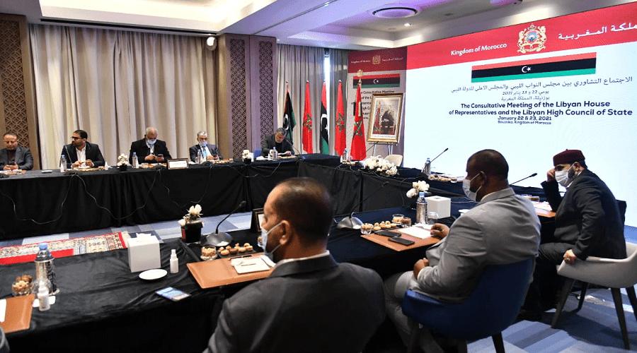 اتفاقات «مهمة» تختم جولة جديدة من الحوار الليبي في بوزنيقة