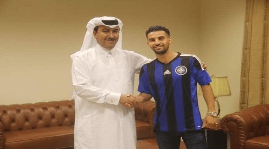 مبارك بوصوفة رسميا بنادي السيلية القطري