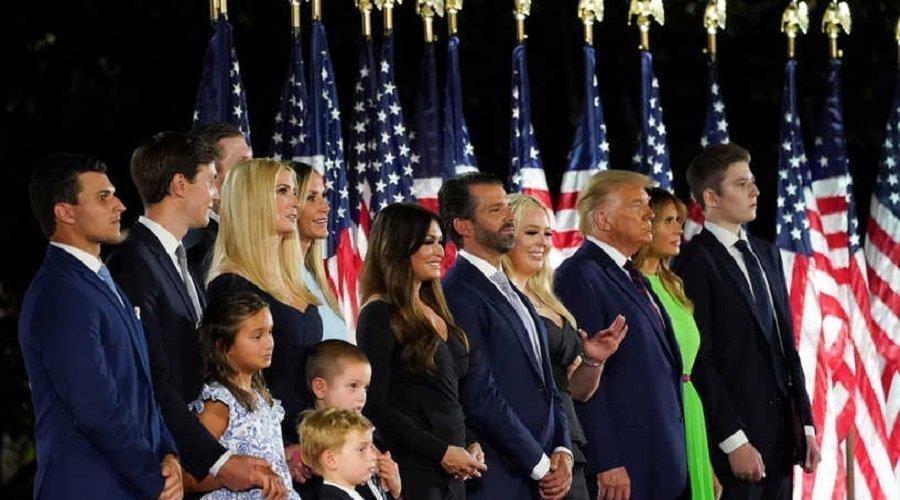 البيت الأبيض يكشف نتائج فحوصات كورونا لابنة ترامب وزوجها