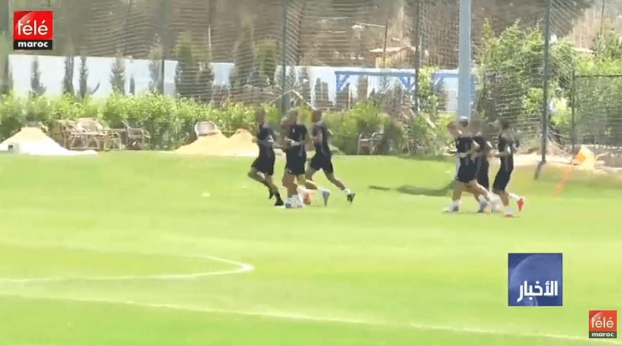 المنتخب الوطني المغربي يواصل استعداداته قبل مواجهة المنتخب الايفواري