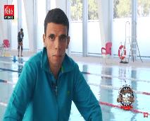 حكاية بطل تحدى الإعاقة بالسباحة