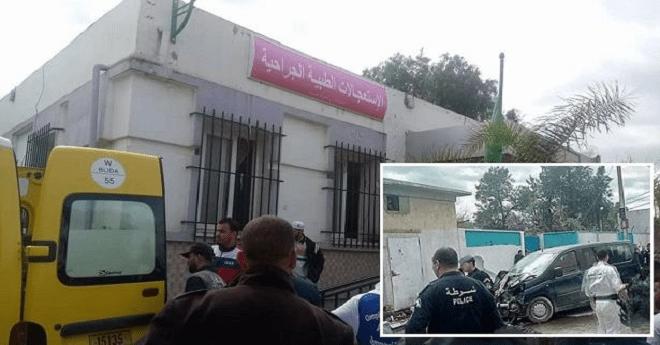 الجزائر.. قتلى و جرحى في حادث دهس سيارة لمجموعة من المارة