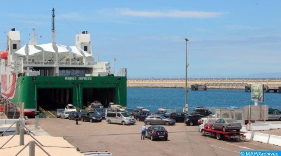 عملية مرحبا 2021: إضافة خطوط بحرية جديدة في اتجاه الموانئ المغربي