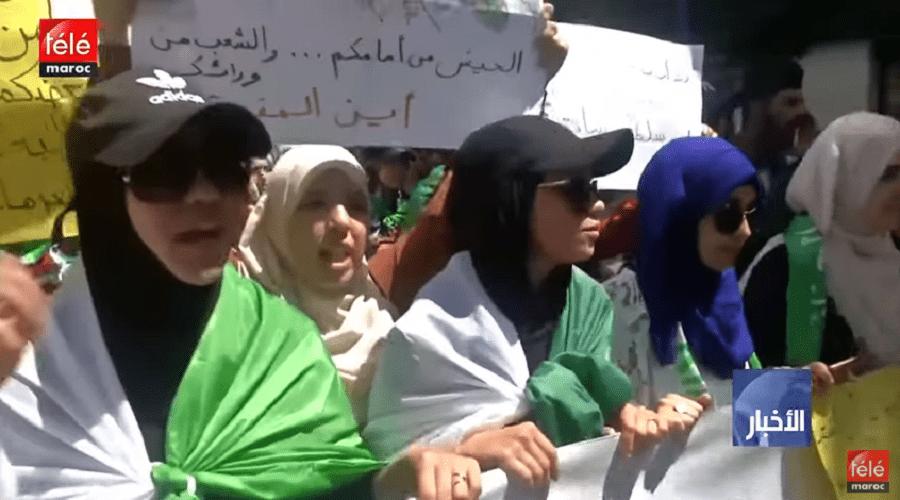 الجزائر: آلاف الطلاب يعودون للتظاهر رفضا لرموز نظام بوتفليقة