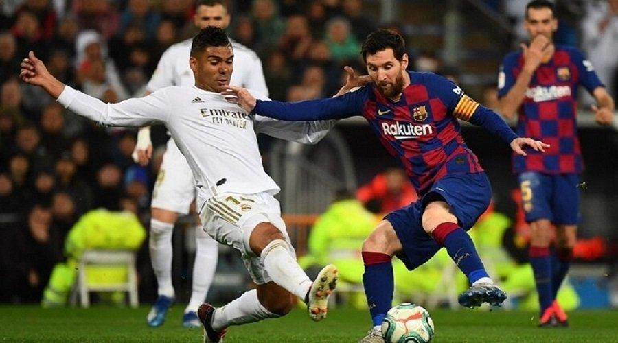 لاعبو برشلونة وريال مدريد يخضعون لفحوص كورونا قبل استئناف التداريب