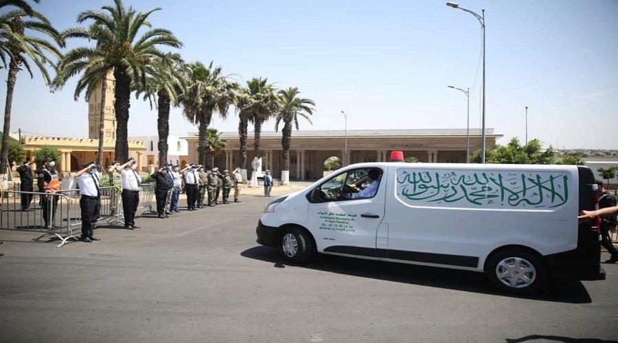 بالصور.. جثمان الراحل عبد الرحمان اليوسفي يوارى الثرى بالدار البيضاء