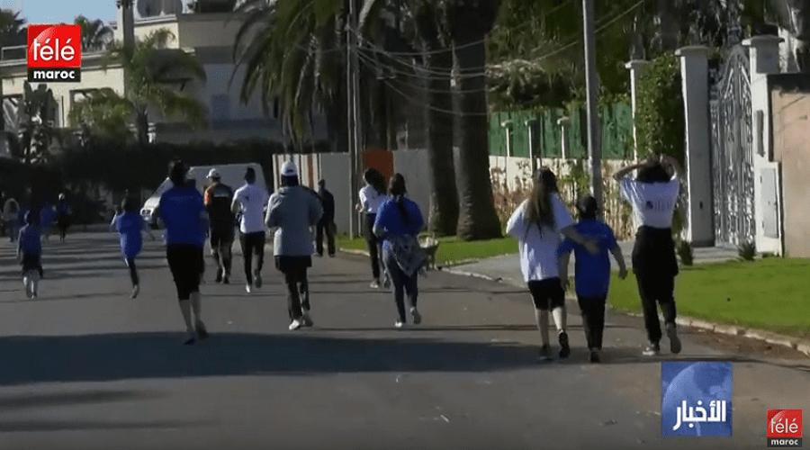تنظيم سباق 10 كيلومتر في نسخته الثانية بالبيضاء لدعم الأيتام