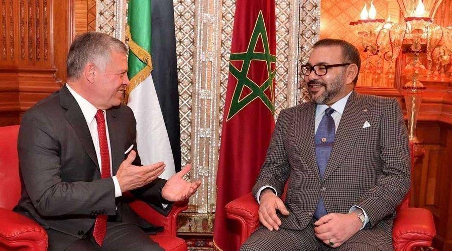 ملك الأردن يهنئ الملك محمد السادس على فتح معبر الكركارات ويخبره عزم بلاده فتح قنصلية بالعيون