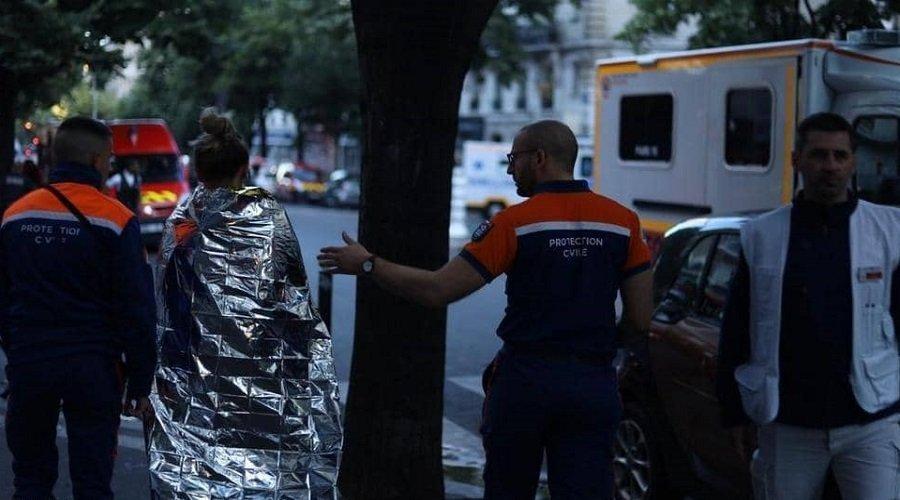 قتلى وجرحى في حريق وسط العاصمة الفرنسية باريس