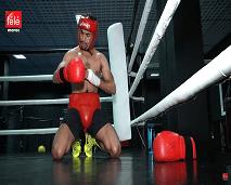 """تعرفوا كيف تغلب الملاكم المغربي أشرف الخروبي على الإحباط الذي عاشه بعد أولمبياد """"ريو دي جانيرو"""""""