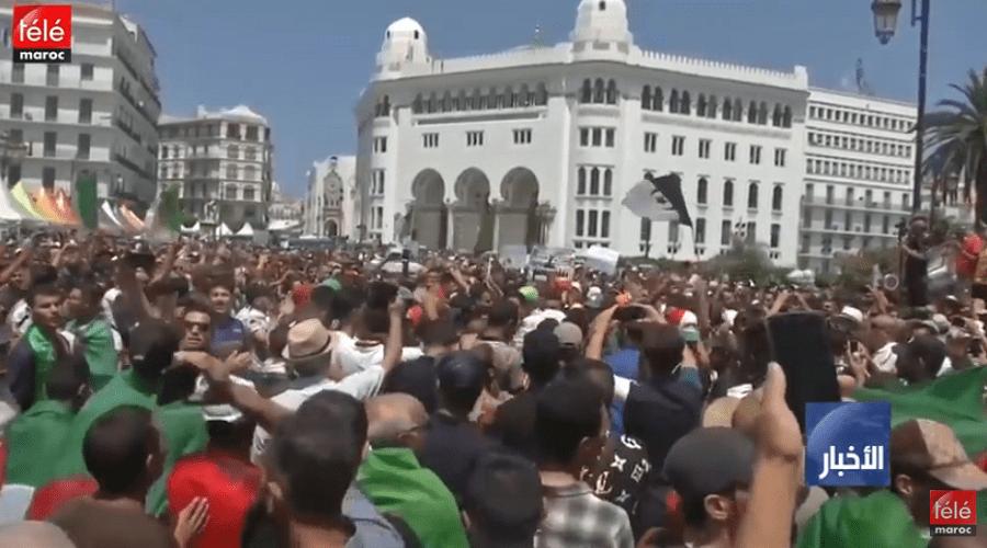 الجزائر: تواصل الاحتجاجات بالجزائر للأسبوع الثلاثين الداعية إلى رحيل كل رموز النظام
