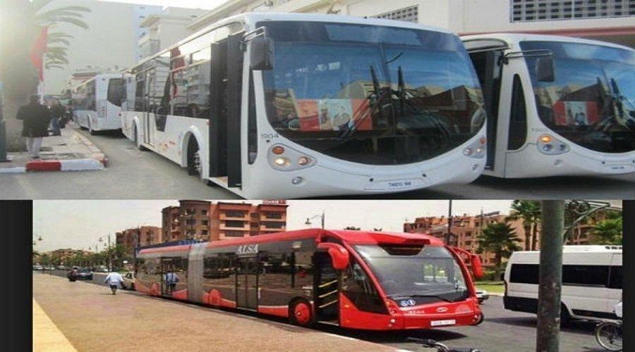 سلا.. توقيف 3 أشخاص بسبب التحريض على تخريب الحافلات الجديدة
