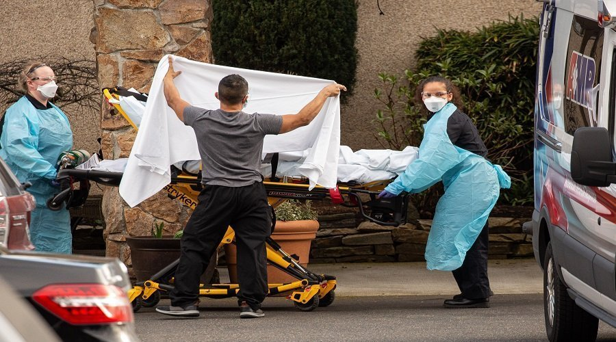 الولايات المتحدة تسجل 1150 وفاة بكورونا خلال يوم واحد