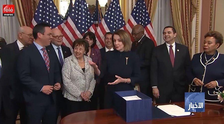 الكونغرس الأمريكي يقر مشروع قانون يمكن من تفادي إغلاق حكومي جديد