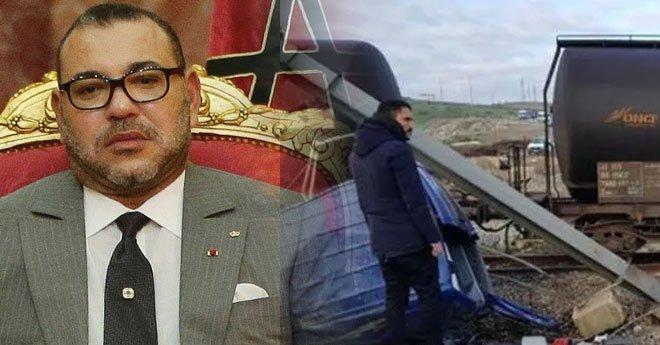 فاجعة مقتل 6 أشخاص في حادث قطار.. الملك يأمر بفتح تحقيق