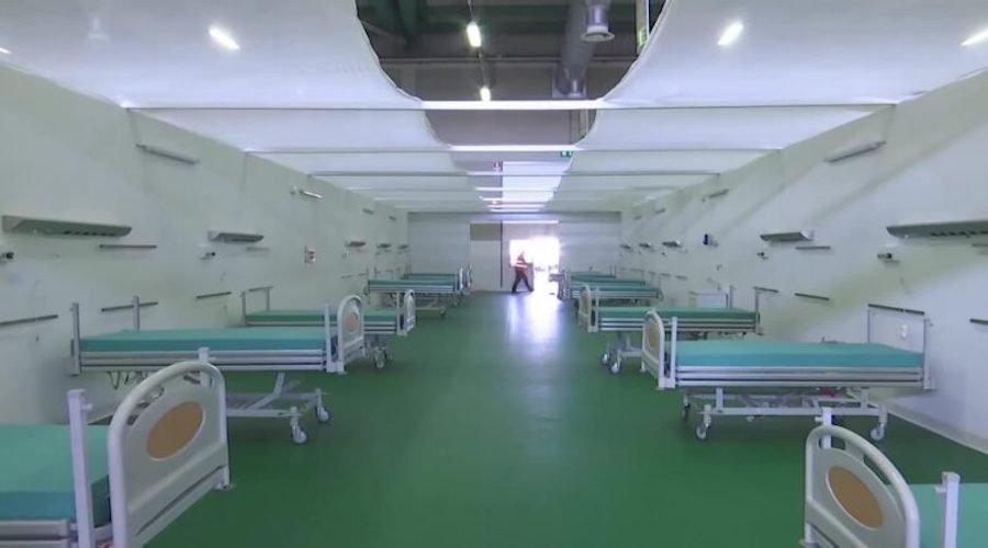 افتتاح مستشفى ميداني بالعيون لاستقبال مرضى «كوفيد 19»