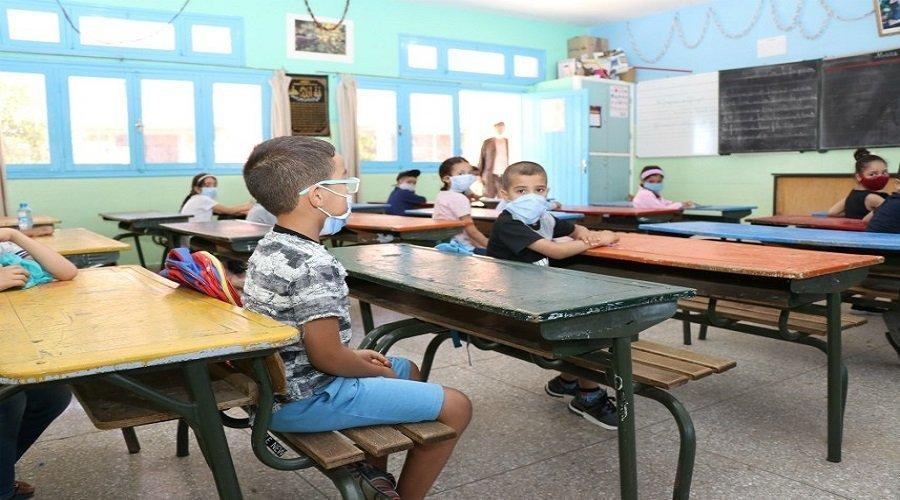 مدارس بالرباط تعيد التدريس بالتناوب بعد تحسن الوضعية الوبائية