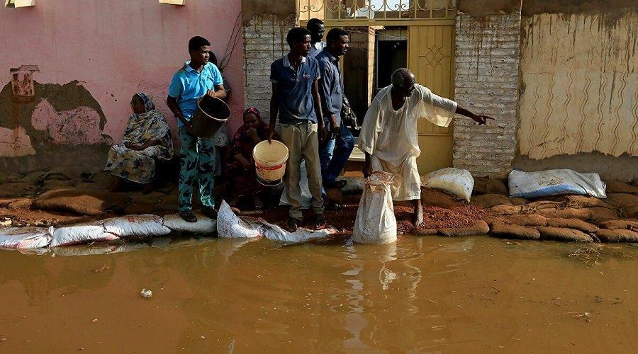 ارتفاع ضحايا فيضانات السودان إلى 114 قتيلا وتدمير أكثر من 33 ألف منزل