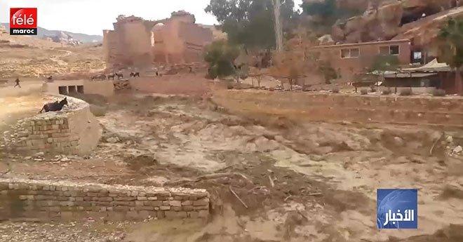 الأردن..  ارتفاع حصيلة ضحايا السيول إلى 11 قتيلا