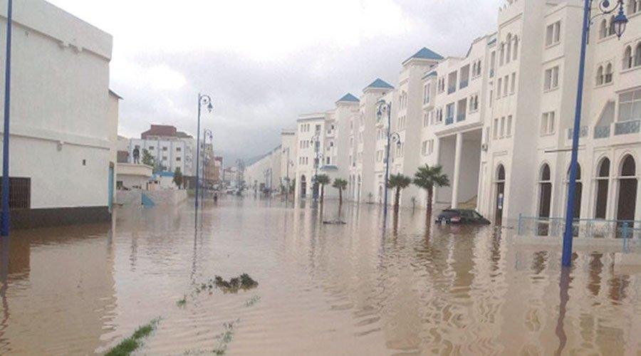 الأمطار تفضح هشاشة البنيات التحتية بمدن الشمال