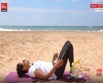 حركات بسيطة لتمرين عضلات الأرجل والبطن