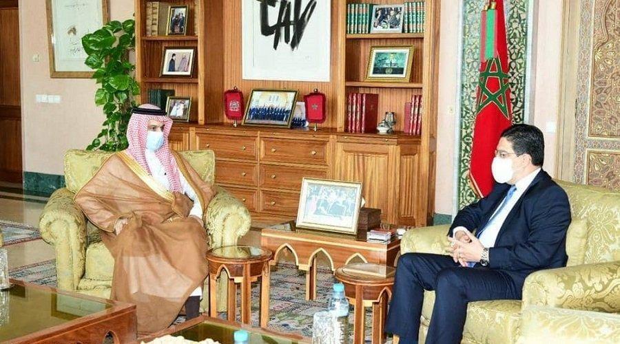الأزمة الليبية.. بوريطة يؤكد تطابق وجهات النظر بين المغرب والسعودية