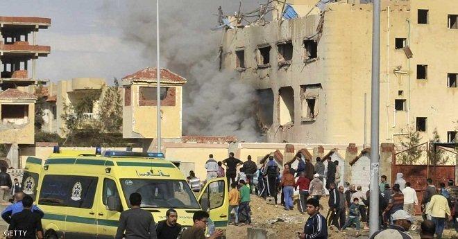 سقوط عشرات المصابين في هجوم على مسجد بمصر