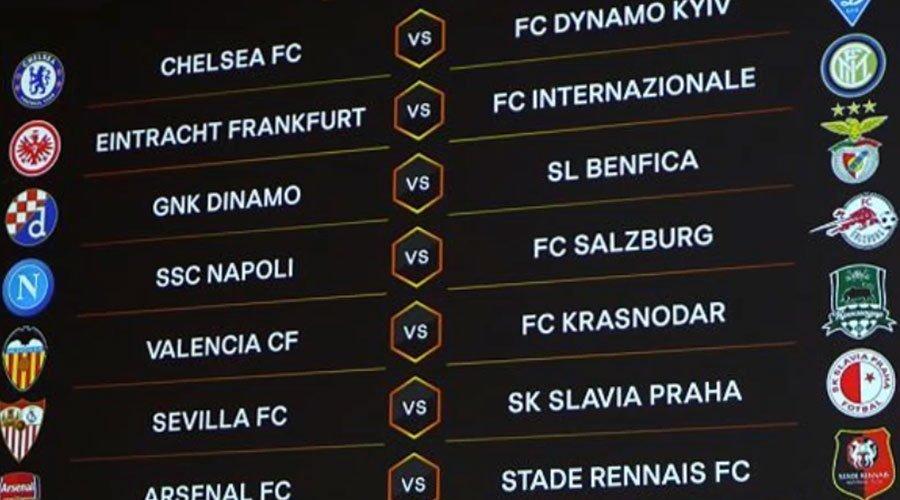 الدوري الأوروبي..لقاءات متوازنة أسفرت عنها قرعة الدور الستة عشر من المسابقة