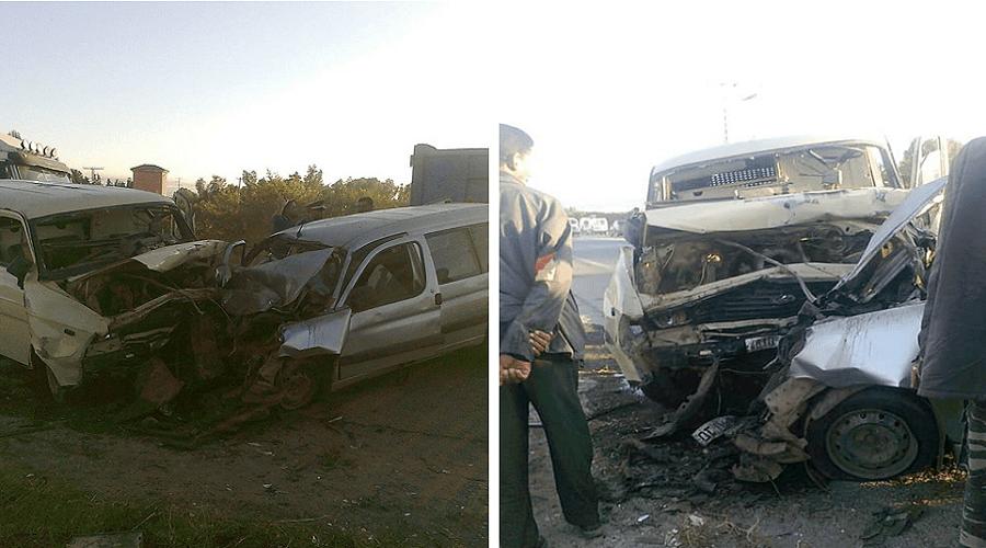 خمسة قتلى في حادثة سير خطيرة ببنسليمان