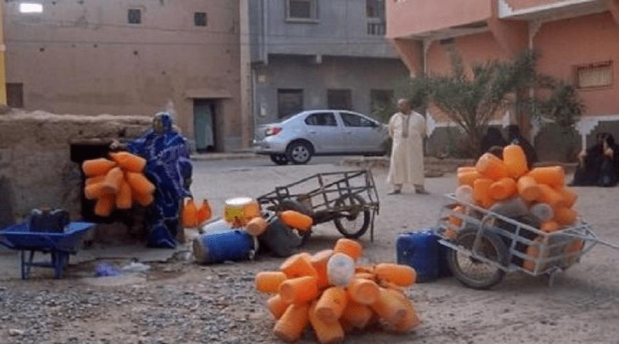 احتجاجات بزاكورة على استمرار انقطاع الماء