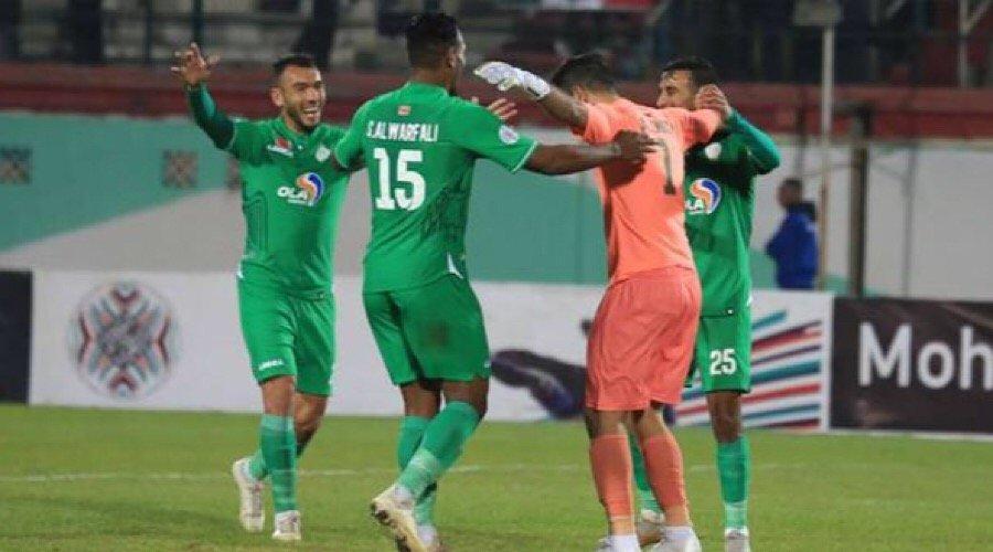 الرجاء يعود بفوز ثمين من الجزائر