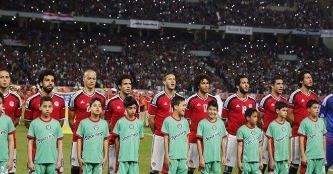 هذه هي التشكيلة الرسمية للمنتخب المصري ضد روسيا