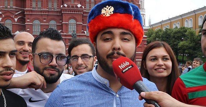 هذا ماقاله المغاربة عن مباراة البرتغال من قلب العاصمة الروسية موسكو