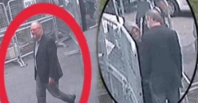 شاهد.. صور دخول خاشقجي القنصلية السعودية وتوديعه لخطيبته