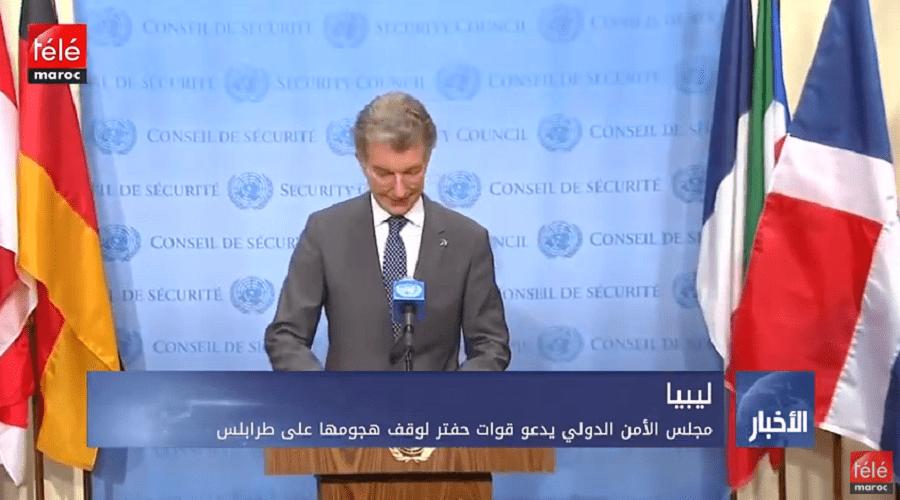 مجلس الأمن الدولي يدعو قوات حفتر لوقف هجومها على طرابلس