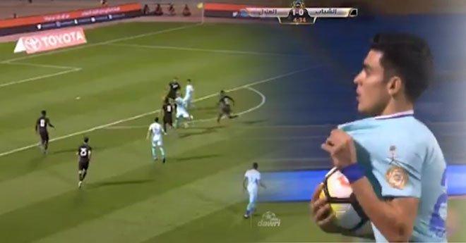 بالفيديو.. بنشرقي يسجل ثاني هدف له رفقه نادي الهلال السعودي