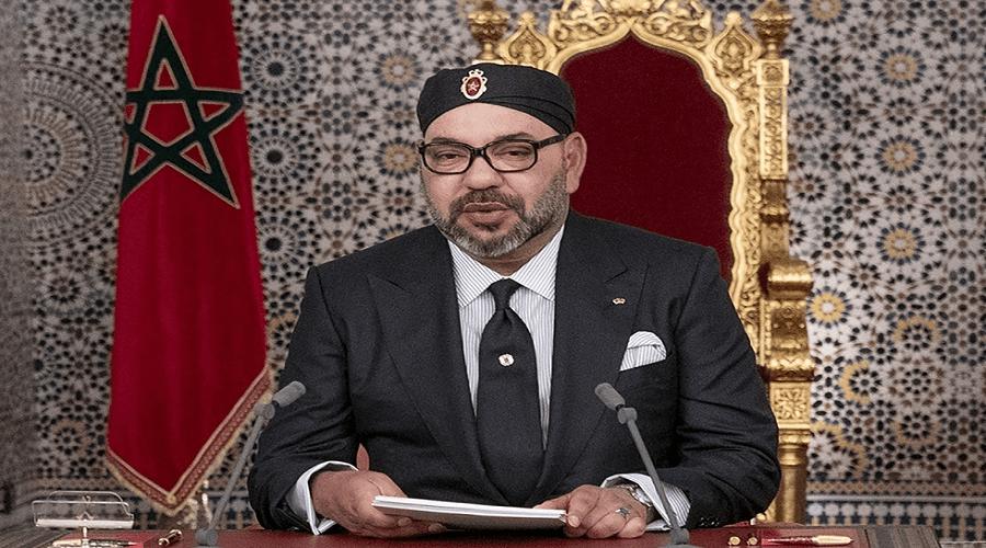خطاب الملك  في افتتاح البرلمان أمام البرلمانيين والوزراء الجدد
